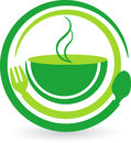 Break fast logo Stock Photography