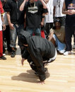 Breakdance 5 hip hop Fotografia Royalty Free