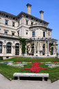 The Breakers mansion on Ochre Point in Newport, Rhode Island Royalty Free Stock Photo