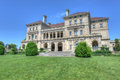 The breakers newport rhode island august mansion a national historic landmark built by cornelius vanderbilt of gilded age as Royalty Free Stock Photos