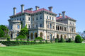 The breakers newport rhode island august mansion a national historic landmark built by cornelius vanderbilt of gilded age as Stock Images