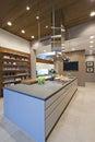 Breakfast Bar In Kitchen Royalty Free Stock Photo