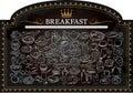 Breakfast on Blackboard