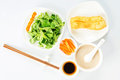 Breakfast Chinese Stock Photo
