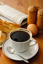 Breakfast coffee Royalty Free Stock Photo