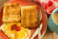 Breakfast Example. Royalty Free Stock Photo