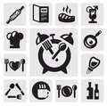 Breakfast icon Royalty Free Stock Photography