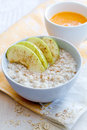 Breakfast with porridge Royalty Free Stock Images