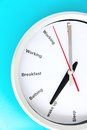 Breakfast time concept abstract image of Stock Photo
