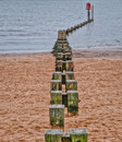 Breakwater Royalty Free Stock Photo