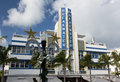 Breakwater hotel in Miami Beach art deco Royalty Free Stock Photo