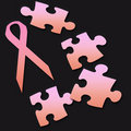 Breast cancer support Royalty Free Stock Images