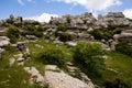 Breautiful Ansicht von Naturreservat EL Torcal Lizenzfreies Stockbild