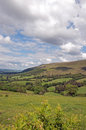 Brecon beacons a scenic view of the in wales Royalty Free Stock Photos