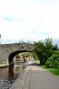 Brecon canal in wales uk Stock Photography