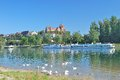 Breisach,Rhine River,Kaiserstuhl,black forest,germany Royalty Free Stock Photo