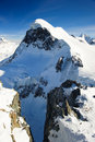 Breithorn mountain peak. Royalty Free Stock Photography