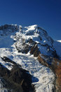 Breithorn summit Stock Image