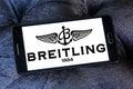 Breitling logo Royalty Free Stock Photo