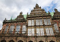 Bremen rathaus town hall of northwestern germany Royalty Free Stock Photos