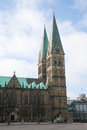 Bremen saint peters cathedral in germany Royalty Free Stock Photography