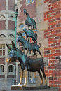 The Bremen Town Musicians,Bremen,Germany Royalty Free Stock Photo