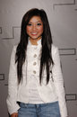 Brenda song actress at the pret a psp fashion show at the pacific design centre los angeles to launch the psp playstation portable Royalty Free Stock Photo