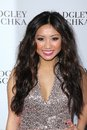 Brenda song at the opening of the badgley mischka flagship on rodeo drive beverly hills ca Royalty Free Stock Images
