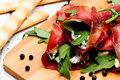 Bresaola rolls Royalty Free Stock Photo