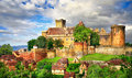 Bretenoux Castelnau Royalty Free Stock Photo