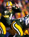 Brett favre green bay packers Lizenzfreies Stockfoto