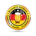 Brewed in Germany , Tradition and quality - beer advertising