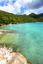 Brewers bay of tortola a beautiful sunny day at on bvi Royalty Free Stock Images