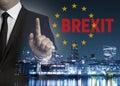 Brexit on United Kingdom membership of the European Union London Royalty Free Stock Photo