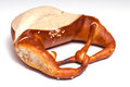 Brezel on a white background Royalty Free Stock Photography