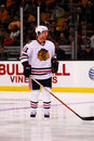 Brian Campbell Chicago Blackhawks Stock Photography