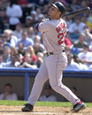 Brian daubach boston red sox b image taken from color slide Royalty Free Stock Images