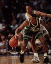 Brian shaw boston celtics guard image taken from color slide Stock Image