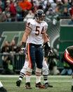 Brian urlacher chicago bears former lb image taken from color slide Stock Image