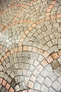 Brick alley pattern Royalty Free Stock Images