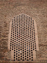 Brick architecture in blue mosque in tabriz iran Royalty Free Stock Photography