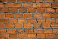 Brick background with new wall Royalty Free Stock Image