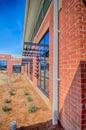 Brick Building Architecture Wi...