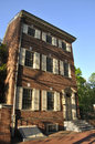 Brick building - Philadelphia Royalty Free Stock Photo