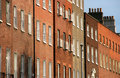 Brick buildings Royalty Free Stock Images