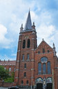 The brick church brussels belgium june of st magdalene located on avenue de jette on june in brussels Stock Images