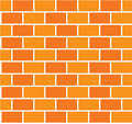 Brick color wall seamless Stock Photography