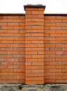 Brick column Royalty Free Stock Image