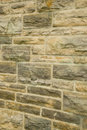 Brick and concrete wall Stock Image