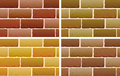 Brick designs Royalty Free Stock Photo